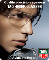 Tag Heuer glasses & spectacle frames